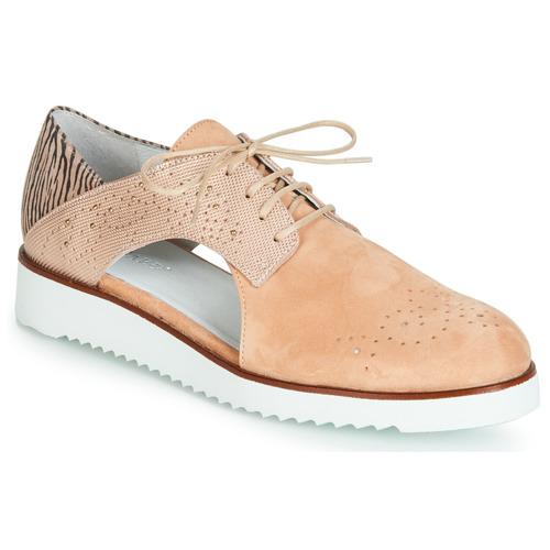 Vel Derbies Femme Rose Chaussures V1 Rixulo Regard vNw08mn