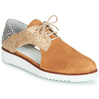 Chaussures Femme Derbies Regard RIXULO V3 VEL CAMEL Marron