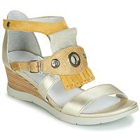 Chaussures Femme Sandales et Nu-pieds Regard RUBIKA V3 VEL JAUNE Jaune