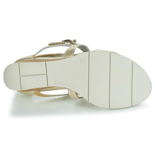 Vel Sandales Jaune Et V3 Chaussures Nu pieds Rubika Femme Regard UpSqzMVG