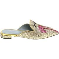 Chaussures Femme Sabots Chiara Ferragni CF1842 GLITTER ORO oro