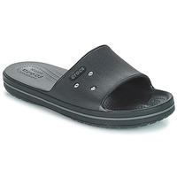 Chaussures Claquettes Crocs CROCBAND III SLIDE Noir