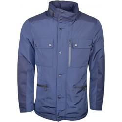 Vêtements Homme Vestes Hackett Veste imperméable  bleu marine pour homme Bleu