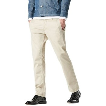 Vêtements Homme Chinos / Carrots G-Star Raw Pantalon  Valdo Bronson Slim Chino Khaki