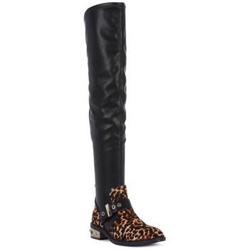 Chaussures Femme Bottes ville Elvio Zanon PONY NAPPA Nero