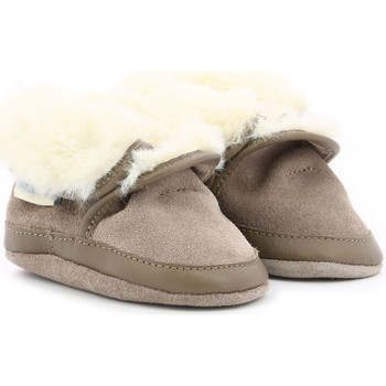 Chaussures Enfant Chaussons bébés Robeez Cosy Boot MARRON