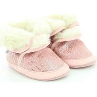 Chaussures Fille Chaussons bébés Robeez Cosy Boot ROSE CLAIR