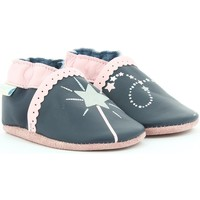 Chaussures Fille Chaussons bébés Robeez Nice Wish MARINE