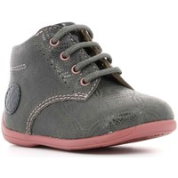 Chaussures Fille Boots Aster Ouki GRIS