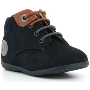 Chaussures Garçon Boots Aster Olbi MARINE
