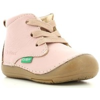 Chaussures Enfant Boots Kickers Sonice ROSE