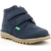 Chaussures Enfant Boots Kickers Neovelcro MARINE
