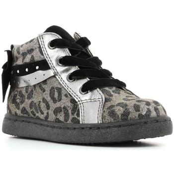 Chaussures Fille Baskets montantes Mod'8 Ourama NOIR