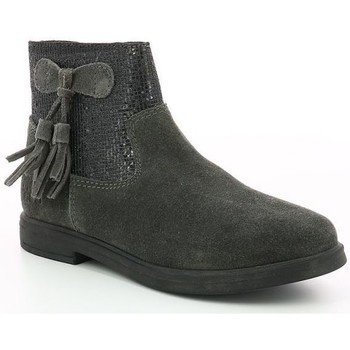 Chaussures Fille Boots Mod'8 Lexane GRIS FONCE