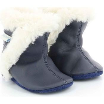 Chaussures Fille Chaussons bébés Robeez Bootie MARINE