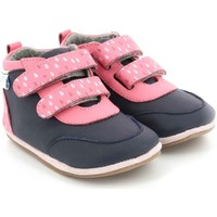 Chaussures Fille Baskets montantes Robeez Raining MARINE