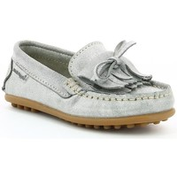Chaussures Fille Chaussures bateau Hush puppies Didine ARGENT