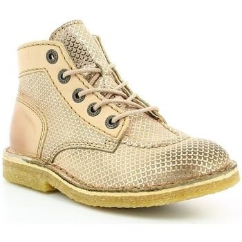 Chaussures Fille Boots Kickers Kick Legend CAMEL