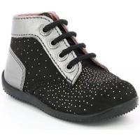Chaussures Enfant Boots Kickers Bonbon NOIR