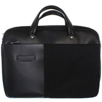 Sacs Porte-Documents / Serviettes Chabrand Serviette  en cuir ref_44603-110-42*32*12 Noir