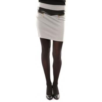 Vêtements Femme Jupes Nina Rocca Jupe J.X Fashion Gris Gris