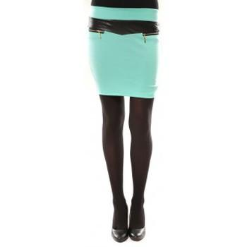 Vêtements Femme Jupes Nina Rocca Jupe J.X Fashion Turquoise Bleu