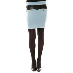 Jupes Nina Rocca Jupe J.X Fashion Bleu