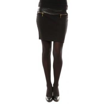 Vêtements Femme Jupes Nina Rocca Jupe J.X Fashion Noir Noir