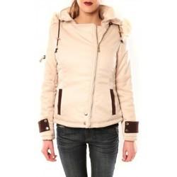 Vêtements Femme Blousons Sweet Company Blouson Flamant Rose 8A161 Beige Beige