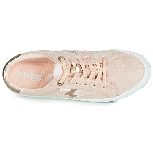 Chaussures Femme Mtng Baskets Nude Basses Rolling bgy6f7