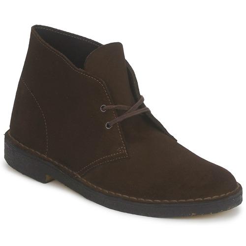 clarks desert boot marron livraison gratuite avec chaussures boot homme 128 00. Black Bedroom Furniture Sets. Home Design Ideas