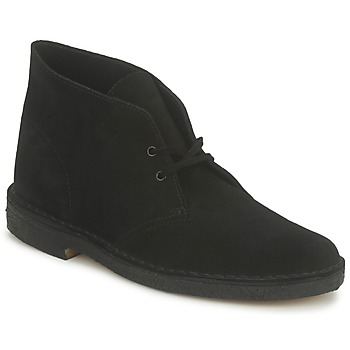 Bottines / Boots Clarks DESERT BOOT Noir 350x350