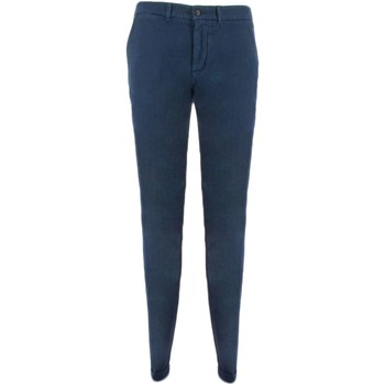 Vêtements Homme Chinos / Carrots Harmont & Blaine NARROW CHINOS pantalon Homme bleu bleu