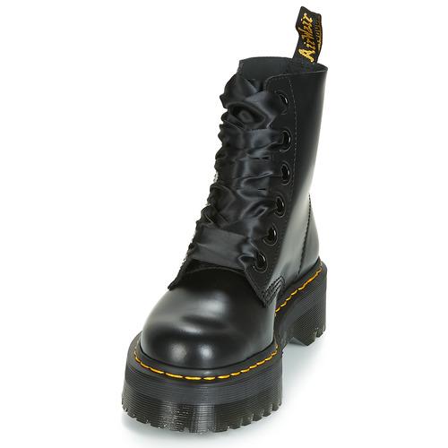 Boots Noir Dr Martens Femme Molly 0wNOvmn8