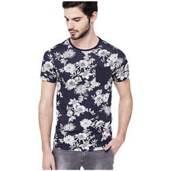 Vêtements Homme T-shirts manches courtes Guess T-Shirt Homme Aron Bleu (rft) Bleu
