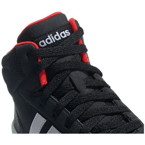 Enfant Adidas Originals Chaussures Hoops Montantes Baskets Mid K 20 Noir v0N8wmn