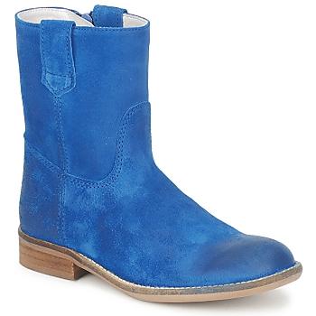 Chaussures Fille Boots Hip DIRAN Bleu