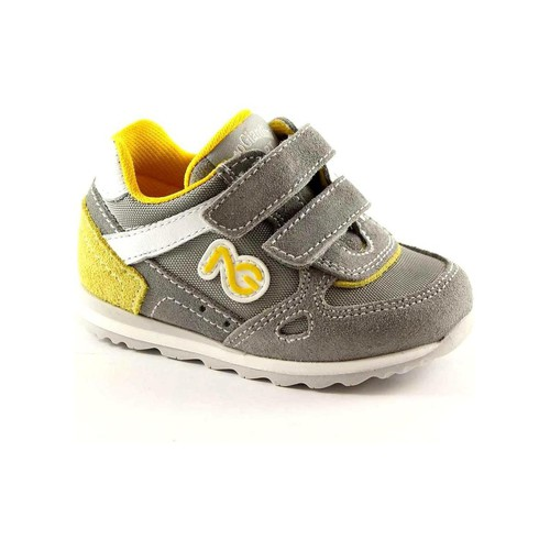 Chaussures Enfant Chaussons bébés Nero Giardini NGJ-23482-106 Grigio