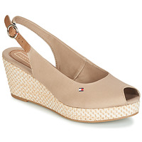 Chaussures Femme Sandales et Nu-pieds Tommy Hilfiger ELBA 39D2 Beige