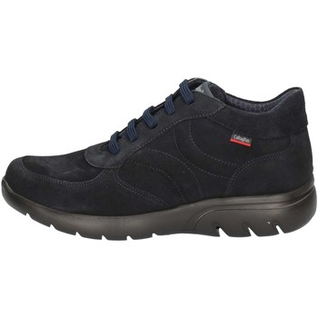 Chaussures Homme Baskets montantes CallagHan 14006 Bleu