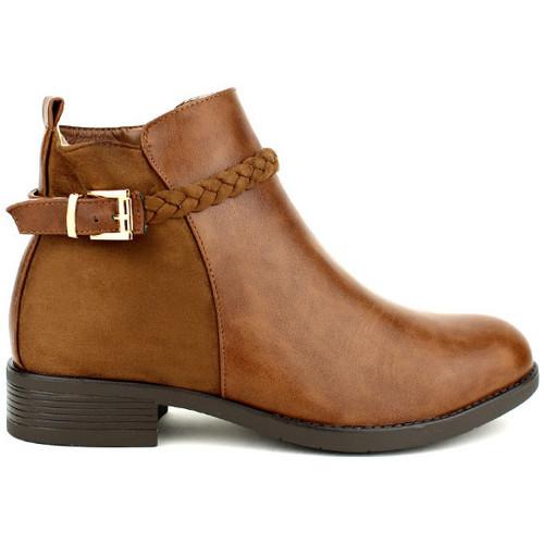 Chaussures Femme Bottines Cendriyon Bottines Caramel Chaussures Femme Caramel