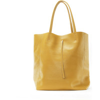 Sacs Femme Cabas / Sacs shopping Oh My Bag Nice jaune moutarde
