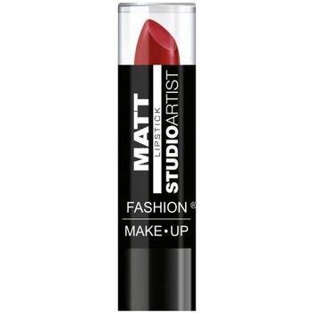 Beauté Femme Rouges à lèvres Fashion Make Up Fashion Make-up - Studio artist Rouge à lèvres Mat n°09 Rouge