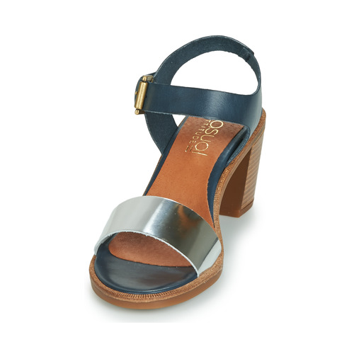 BleuArgenté pieds Jalayeve Attitude Casual Et Femme Nu Chaussures Sandales LR4Aj5