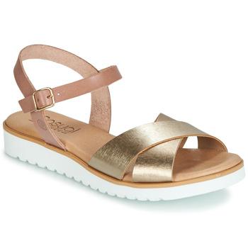 Chaussures Femme Sandales et Nu-pieds Casual Attitude JALAYEDE Rose / Doré