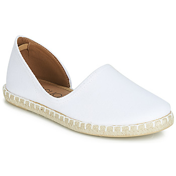 Chaussures Femme Espadrilles Casual Attitude JALAYIVE blanc
