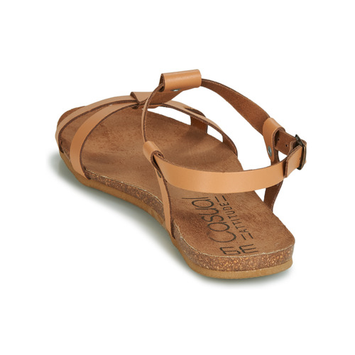pieds Nu Chaussures Sandales Casual Et Attitude Femme Jaliyaxe Camel 8nPkw0OX