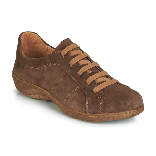 Chaussures Homme Derbies Casual Attitude JALIYAFE Marron