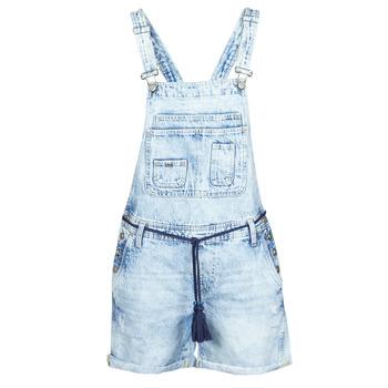 Vêtements Femme Combinaisons / Salopettes Pepe jeans ABBY Bleu