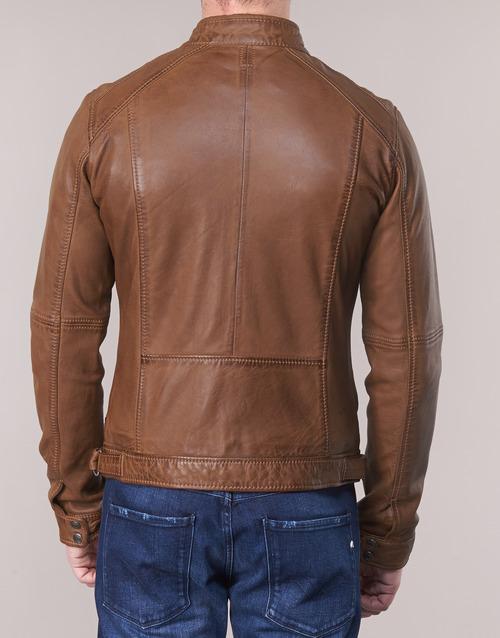 Casey En Oakwood Homme Vestes CuirSynthétiques Cognac vn0w8mN
